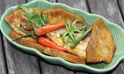 Cách làm món cá nục rim tỏi ớt, món cá, món ăn ngon cùng cơm