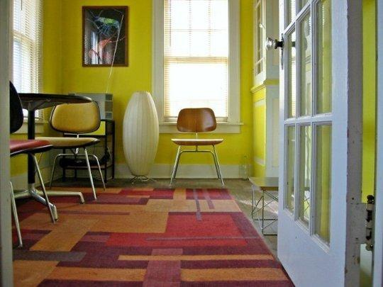 ngam 2 can ho nho an tuong voi mau sac tao bao jpg0 Chiêm ngưỡng không gian 2 căn hộ nhỏ ấn tượng với màu sắc táo bạo