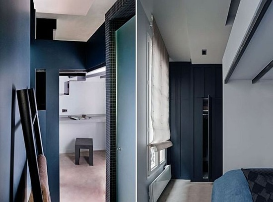 can ho 27m ca tinh voi 7 phan khong gian rieng biet jpg1 Thiết kế nội thất căn hộ 27m² cá tính với 7 phần không gian riêng biệt