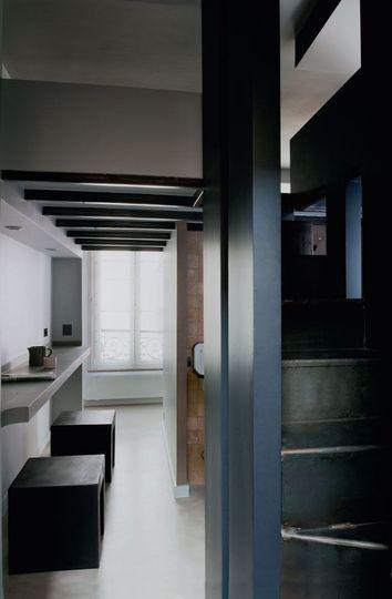 can ho 27m ca tinh voi 7 phan khong gian rieng biet jpg2 Thiết kế nội thất căn hộ 27m² cá tính với 7 phần không gian riêng biệt