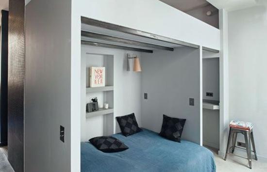can ho 27m ca tinh voi 7 phan khong gian rieng biet jpg8 Thiết kế nội thất căn hộ 27m² cá tính với 7 phần không gian riêng biệt