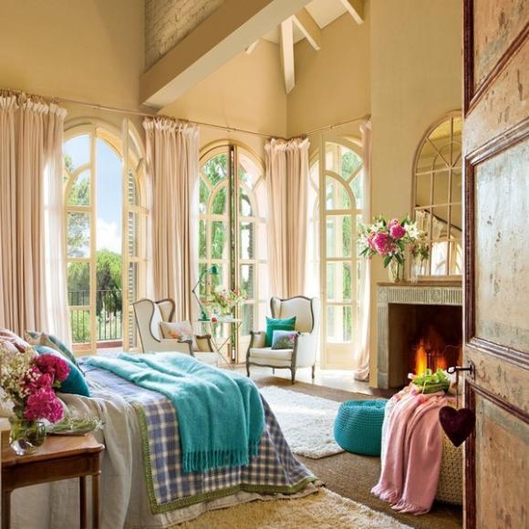 Ngỡ ngàng với phòng ngủ đẹp như bước ra từ truyện cổ tích 1