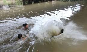 Chết đuối,Quảng Bình,tắm đập,chết thảm,trượt chân.