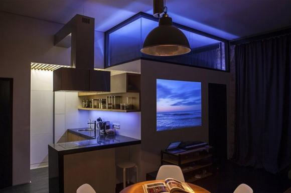 alex 20 13  lqdx jpg width 60010 Chia sẻ ý tưởng mới trong thiết kế bếp và thư viện sách
