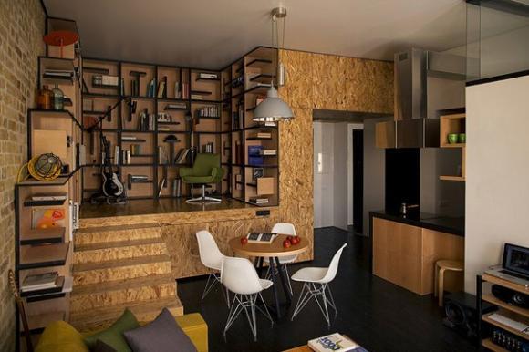 alex 20 6  tnfe jpg width 6001 Chia sẻ ý tưởng mới trong thiết kế bếp và thư viện sách