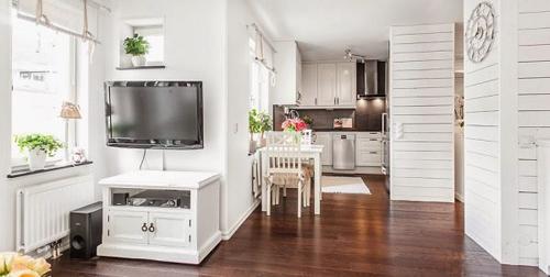 1396661336 3 jpg5 Tham quan bên trong căn hộ 40m2 màu trắng đầy đủ tiện nghi