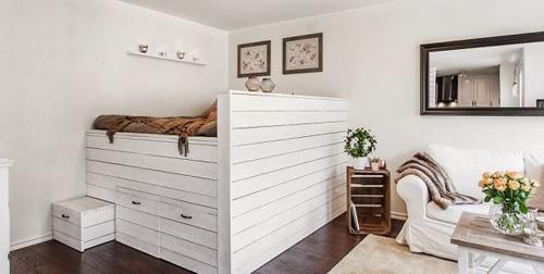 1396661336 6 jpg2 Tham quan bên trong căn hộ 40m2 màu trắng đầy đủ tiện nghi
