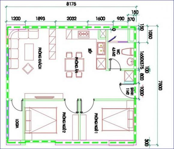 Tư vấn bố trí nội thất cho căn hộ chung cư trả góp 1