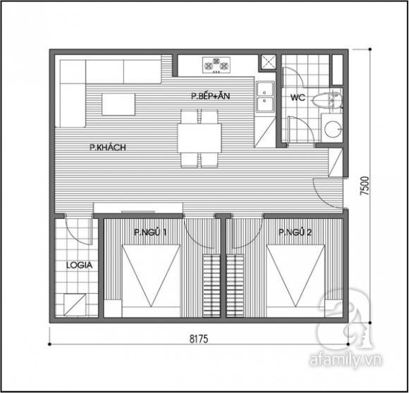 Tư vấn bố trí nội thất cho căn hộ chung cư trả góp 2