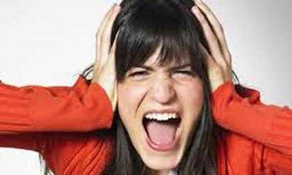 tức giận, tác hại của tức giận, tức giận ảnh hưởng sức khỏe, cáu giận dễ sinh bệnh, phụ nữ, phụ nữ cáu giận