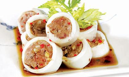 thịt heo, thịt lợn hấp, thịt hấp kiểu mới, món mới, mon ngon cuối tuần