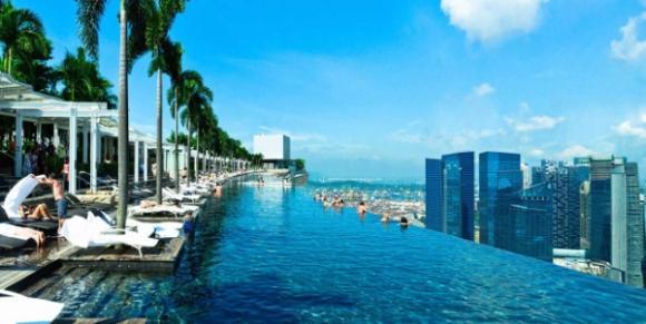 Những bể bơi vô cực tuyệt đẹp trên thế giới