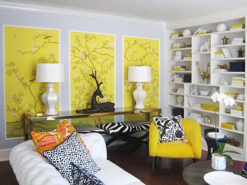 Nhà đẹp,màu sắc,nội thất,thiết kế,sáng sủa,mát mẻ,đón hè.