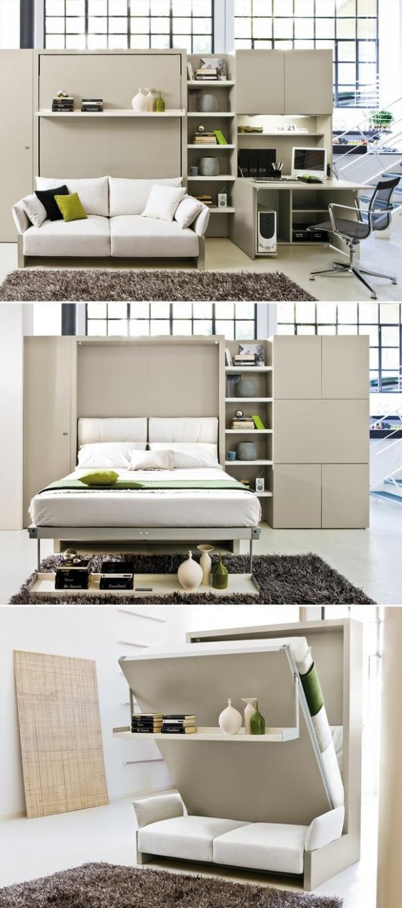 giuong am chiec chia khoa vang cho khong gian song nho jpg3 Thiết kế giường âm   chiếc chìa khoá vàng cho không gian sống nhỏ