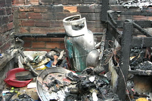 Nổ bình gas,Nổ ga ở Phố Tô Hiệu,Tai nạn nổ gas