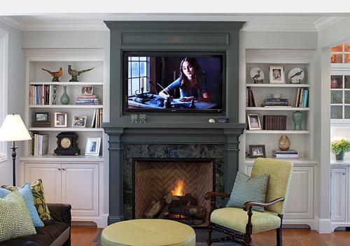1405133388 16 jpg15 Cùng nhìn qua 20 mẫu kệ đồ phù hợp với TV treo tường