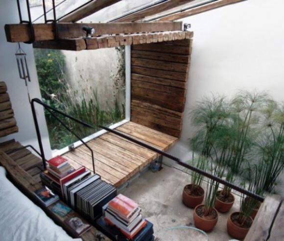 Không gian sống thư giãn với vườn cây trong nhà 3
