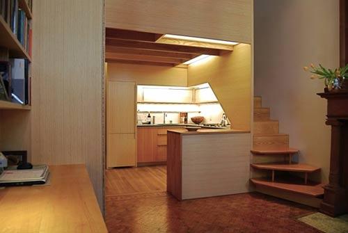 1405305113 can canh 1 jpg0 Chiêm ngưỡng cận cảnh căn hộ 22 m2 có cả phòng đọc sách