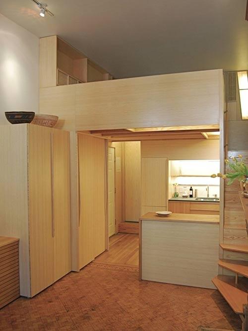 1405305113 can canh 2 jpg1 Chiêm ngưỡng cận cảnh căn hộ 22 m2 có cả phòng đọc sách