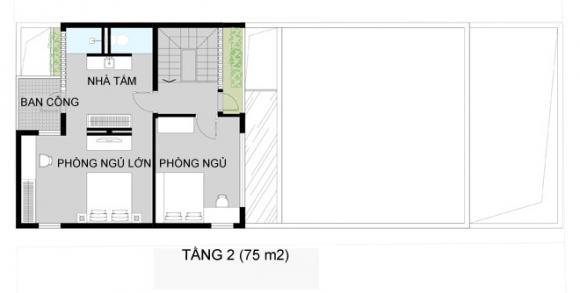 a3a0b315a1405302685660x0 jpg14 Thiết kế không gian xanh tiện nghi trong nhà ống ở Sài Gòn