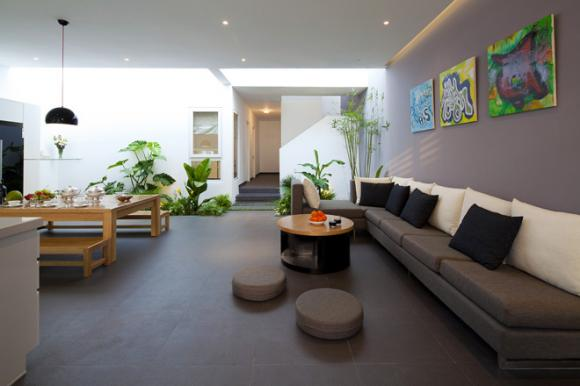 bfd86141405302683660x0 jpg3 Thiết kế không gian xanh tiện nghi trong nhà ống ở Sài Gòn