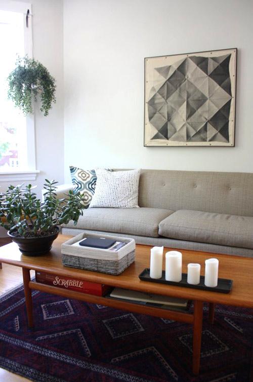 6 cách làm mới phòng khách ít tốn kém - 1
