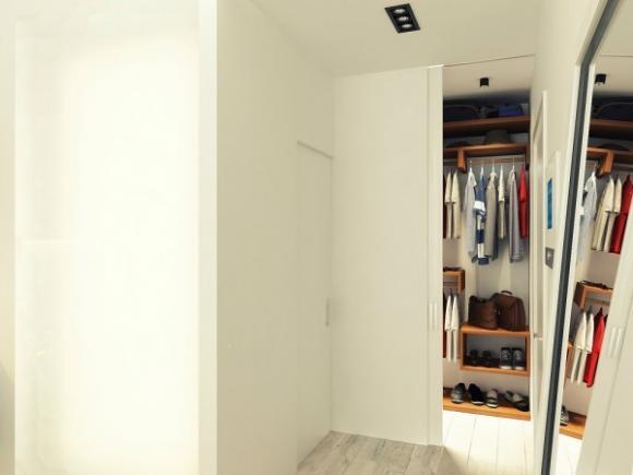 can ho 29m tuyet dep voi gam mau nha nhan jpg8 Tham quan căn hộ 29m² tuyệt đẹp với gam màu nhã nhặn