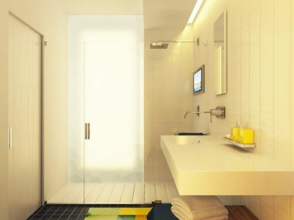 can ho 29m tuyet dep voi gam mau nha nhan jpg9 Tham quan căn hộ 29m² tuyệt đẹp với gam màu nhã nhặn