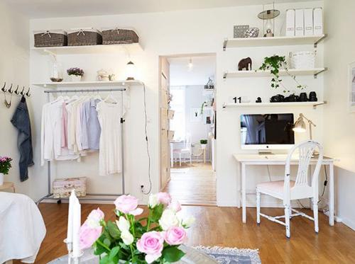 1404448436 11 jpg10 Gợi ý thiết kế tủ quần áo mở lý tưởng cho phòng ngủ nhỏ