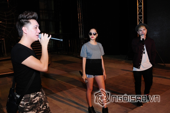 Bảo Anh, Hoàng Tôn , Minh Vương, đêm trao giải âm nhạc trực tuyến Zing, Zing