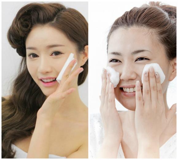 Thói quen gây hại cho da, làm đẹp,tẩy trang, kem chống nắng, rửa mặt