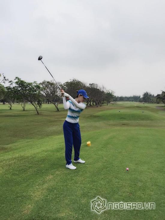 Quỳnh Thư, Quỳnh Thư đánh golf, Quỳnh Thư 2014, Quỳnh Thư diễn viên, Quỳnh Thư thời trang