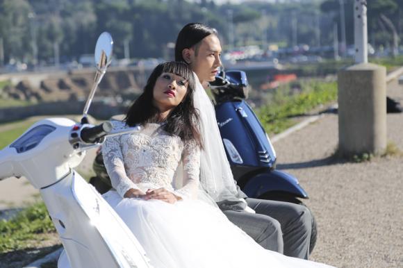 vietnam's next top model 2014, quang hùng, cao ngân, tiêu ngọc linh, nguyễn oanh, duy anh, váy cưới, lãng mạn, hậu trường