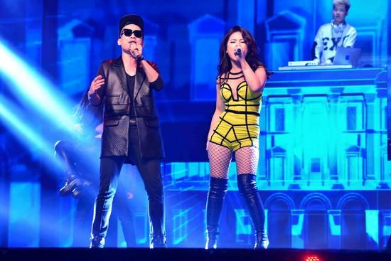 ,Dương Hoàng Yến chương trình truyền hình , cặp đôi hoàn hảo , ntk hà duy , 2014