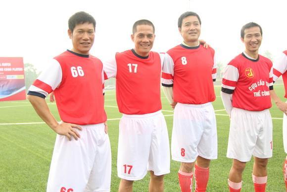 Sao việt,sao viet,cựu cầu thủ thể công,câu lạc bộ bóng đá ngôi sao việt nam,ngôi sao fc,danh thủ hồng sơn,tuyển thủ thạch bảo khanh