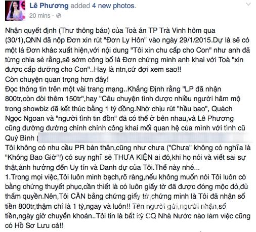 Quách Ngọc Ngoan, Lê Phương, sao Việt, sao Viet