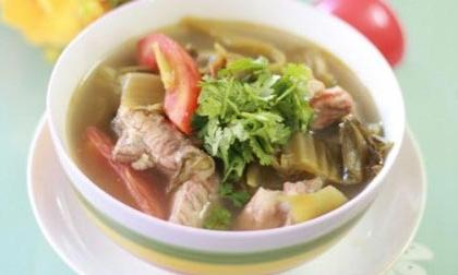 Image result for Canh chua ba khía