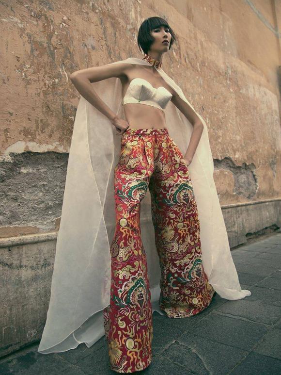 vietnam's next top model 2014, top 5, duy anh, tiêu ngọc linh, cao ngân, nguyễn oanh, quang hùng