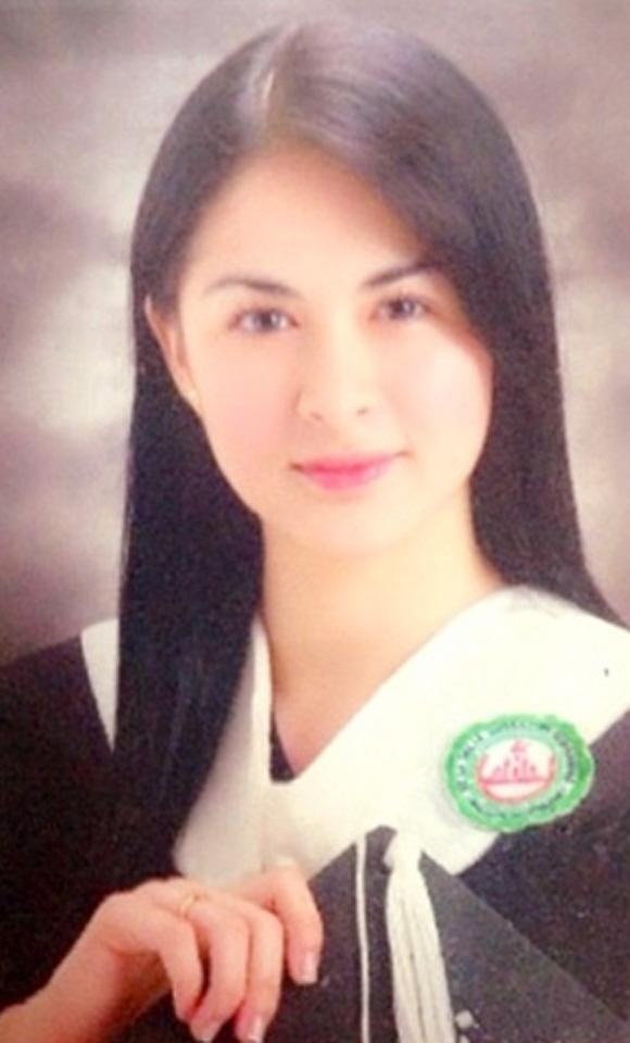 mỹ nhân đẹp nhất Philippines,mỹ nhân đẹp nhất Philippines khoe ảnh tốt nghiệp,Marian Rivera khoe ảnh tốt nghiệp