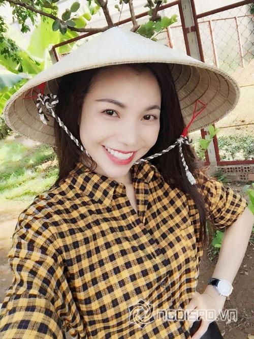 sao Việt,sao Việt về quê,sao Việt giản dị,Trà Ngọc Hằng,Thái Hà,Hoàng Thùy Linh,Ngọc Trinh