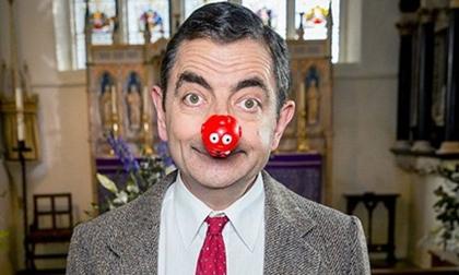 sao hollywood, mr.bean, phim mr.bean, hoạt hình mr.bean, mr.bean ở sự kiện,Rowan Atkinson