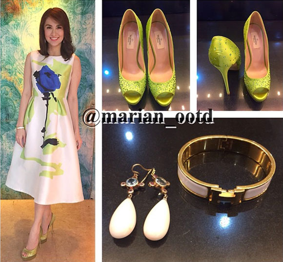 Marian Rivera,hàng hiệu của Maria Rivera,mỹ nhân đẹp nhất Philippines,Marian quyến rũ