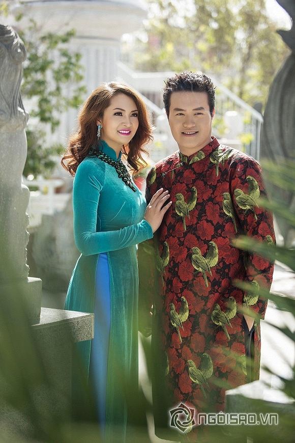 Bầu Minh Chánh và bà xã, bau minh chanh, minh chanh va vo, minh chanh, Nathalee Trương, Hoa hậu Phụ nữ người Việt thế giới 2015, Hoa hau phu nu nguoi viet the gioi