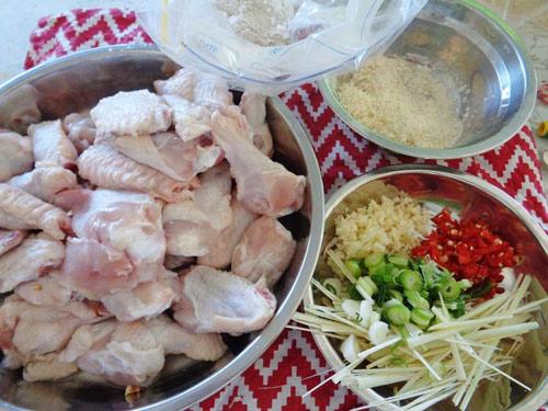 Cánh gà rang muối, Cách làm cánh gà rang muối, Món ăn ngon