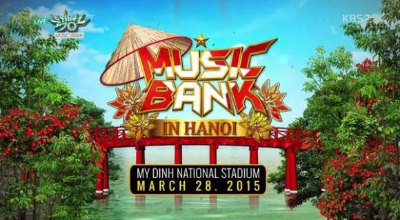 music bank ha noi 2015, music bank in hanoi, music bank, sieu show kpop festival, show kpop