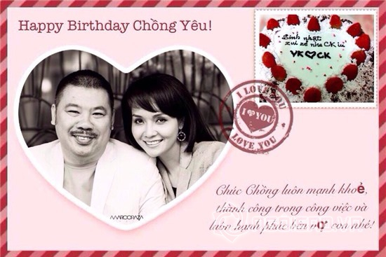 Mỹ nhân Việt tặng quà gì cho chồng trong ngày sinh nhật 0