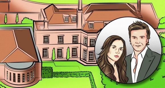 beckham doi 8 ngoi nha15 ngoisao.vn Cùng nhìn qua 8 ngôi nhà bạc tỷ của vợ chồng nhà Becks