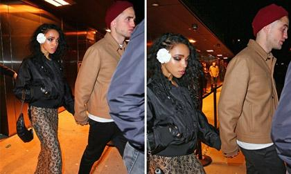 chuyện làng sao,Robert Pattinson và FKA Twigs,Robert Pattinson và bạn gái mới KA twigs,Robert Pattinson chia tay bạn gái, sao Hollywood