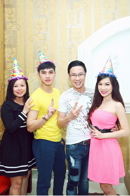 MC Anh Quân, mc anh quan, sinh nhật MC Anh Quân, Đức Tiến và Kavie, sinh nhật sao Việt
