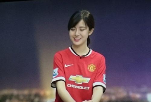 Thánh nữ MU Nguyễn Tú Linh trên K+ trận derby thành